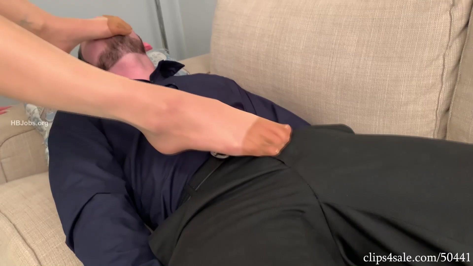 Russian Nylon Feet Worship