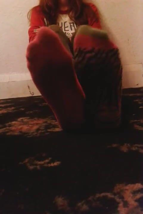 Megansox converse stinky socks