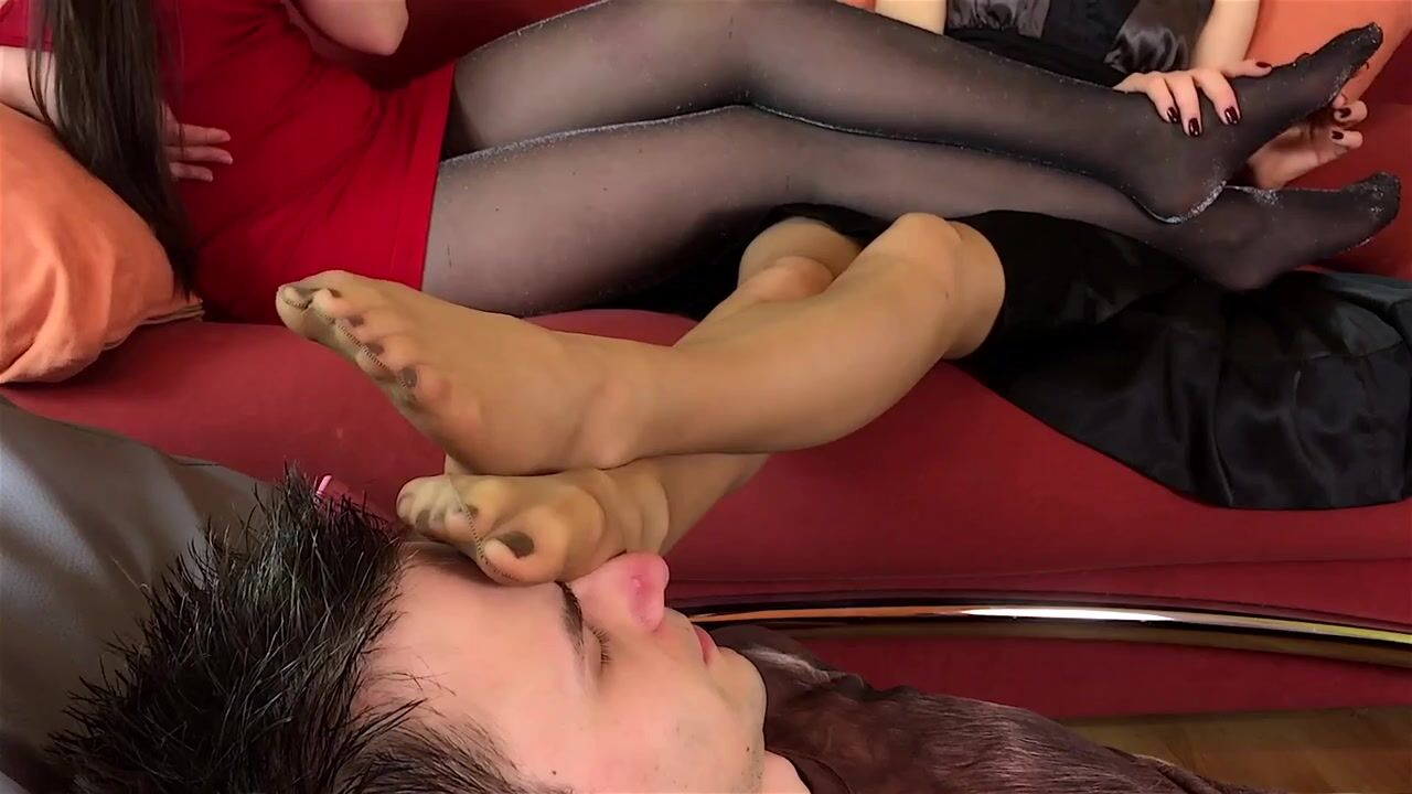 polish feet