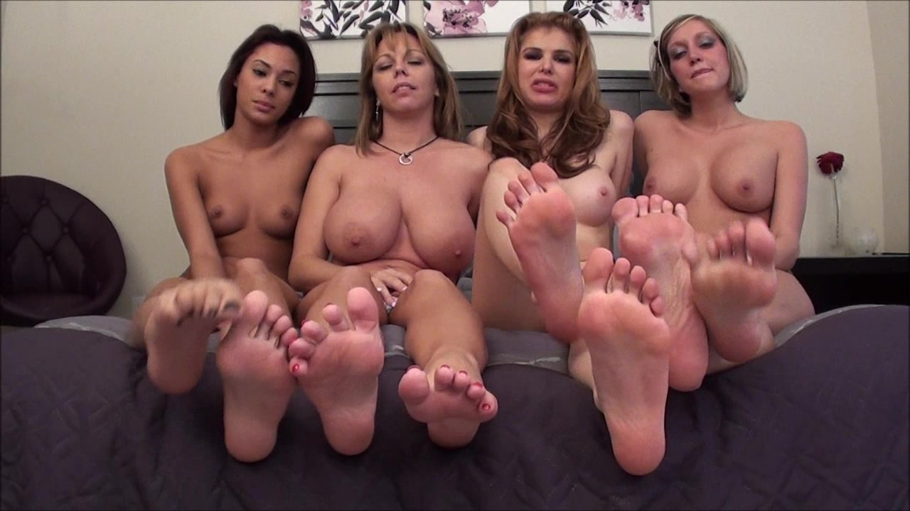 Lesbian Kitchen Foot Worship