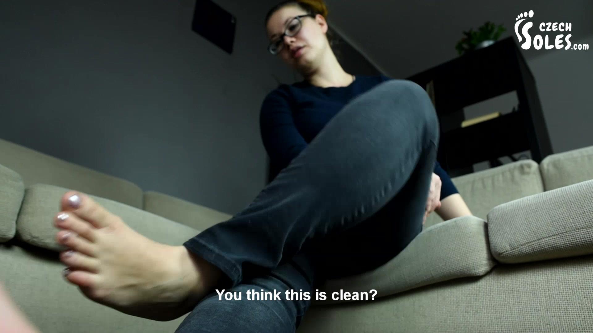Lesbian Public Foot Slave