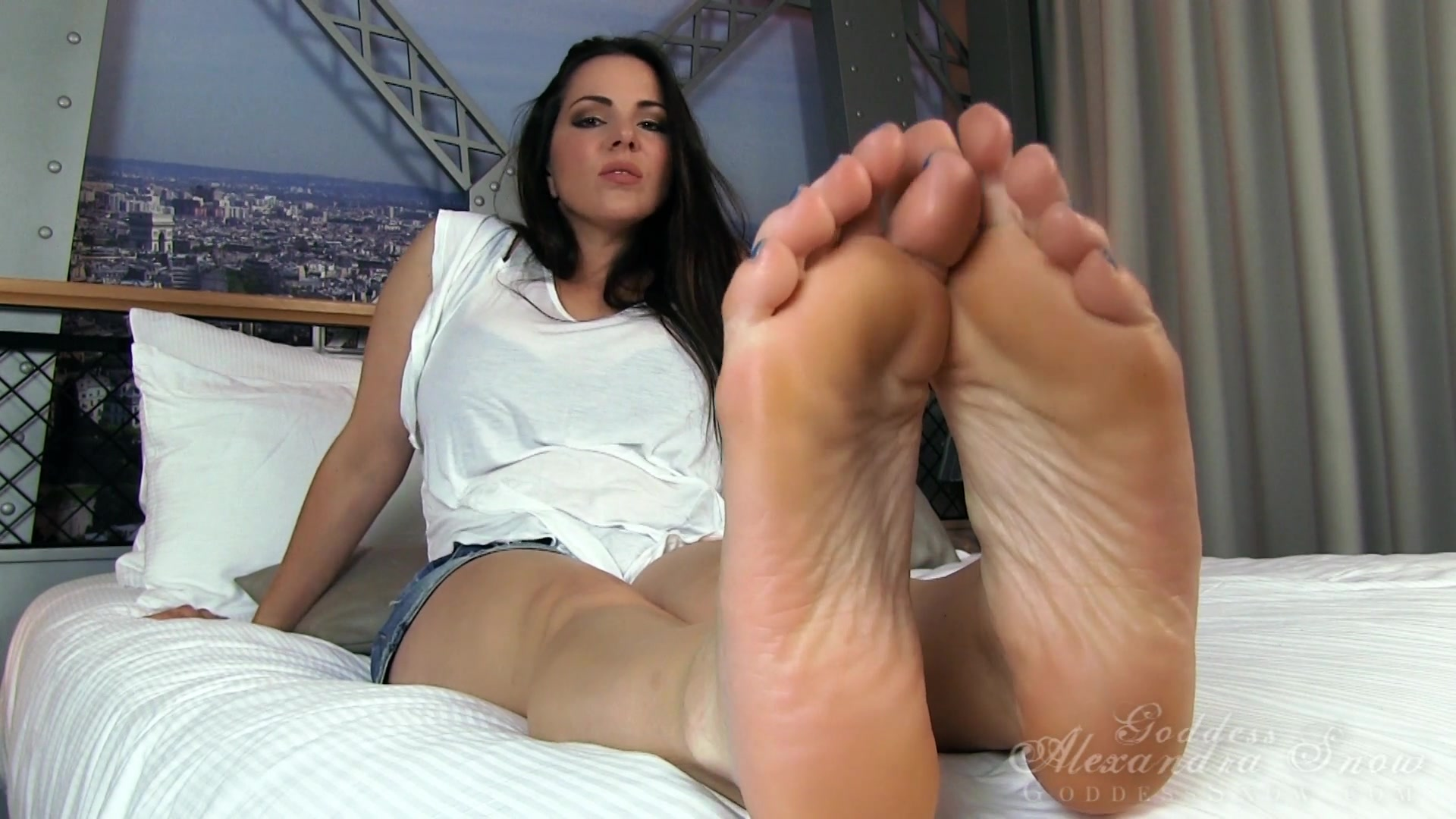 Mother Licks Daughters Feet