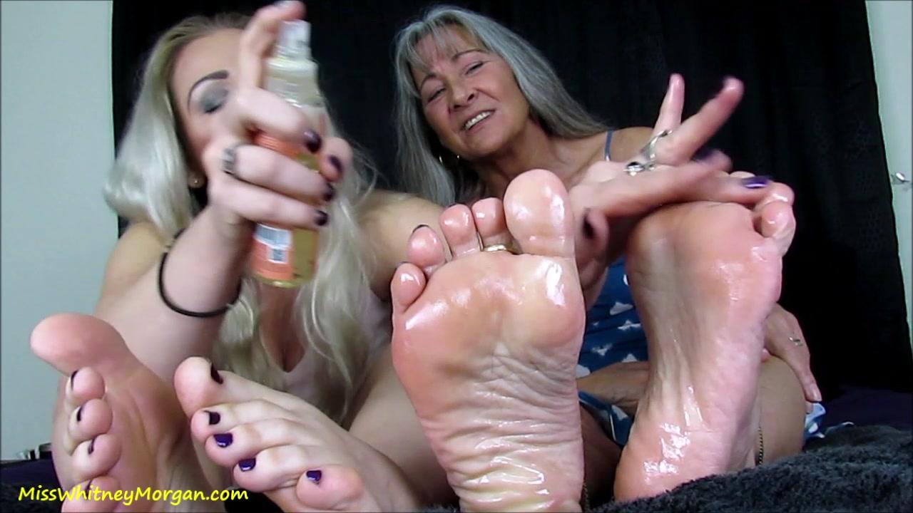 German Nylon Feet Worship