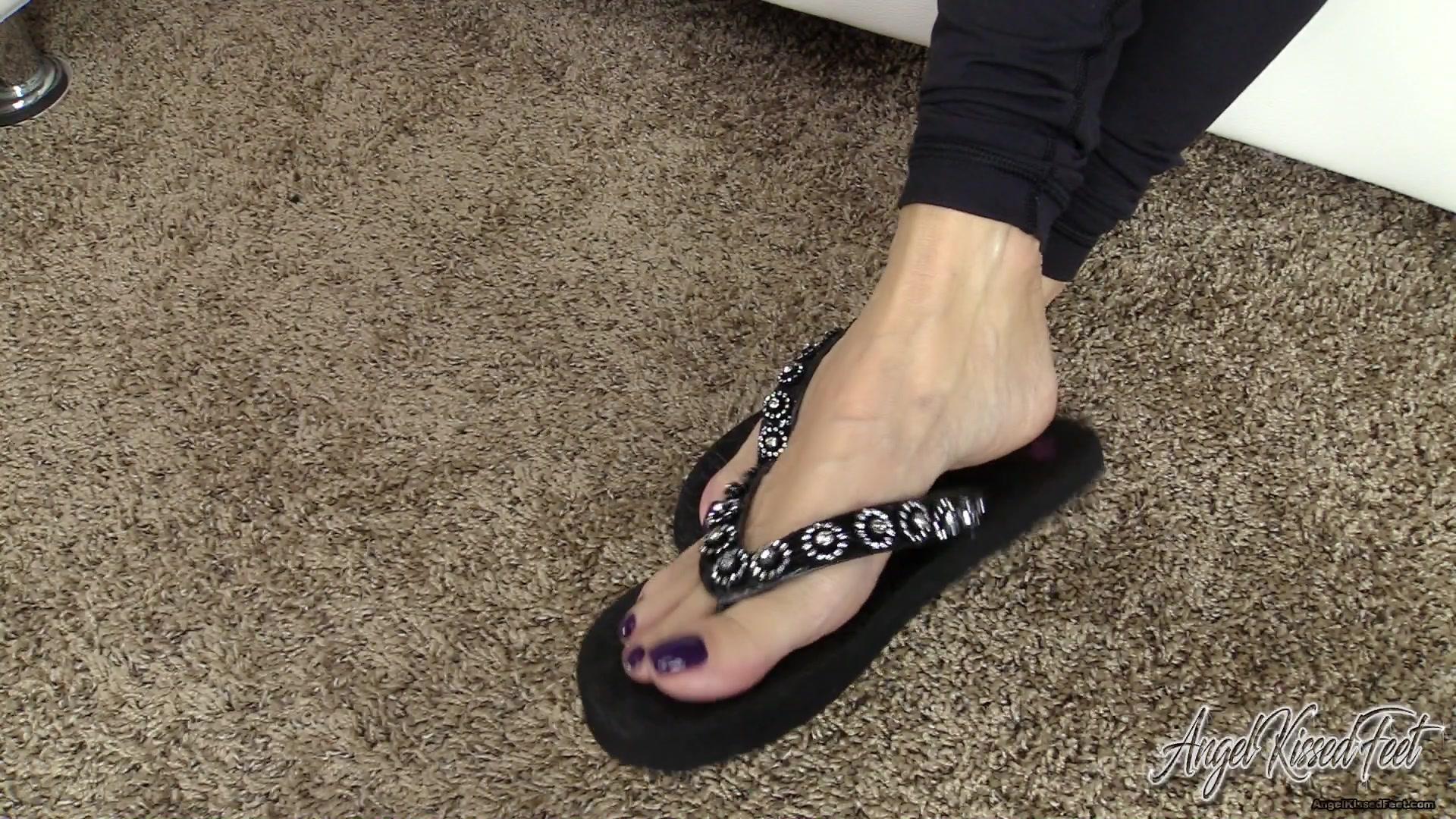 Girl Licks Male Ass Feet