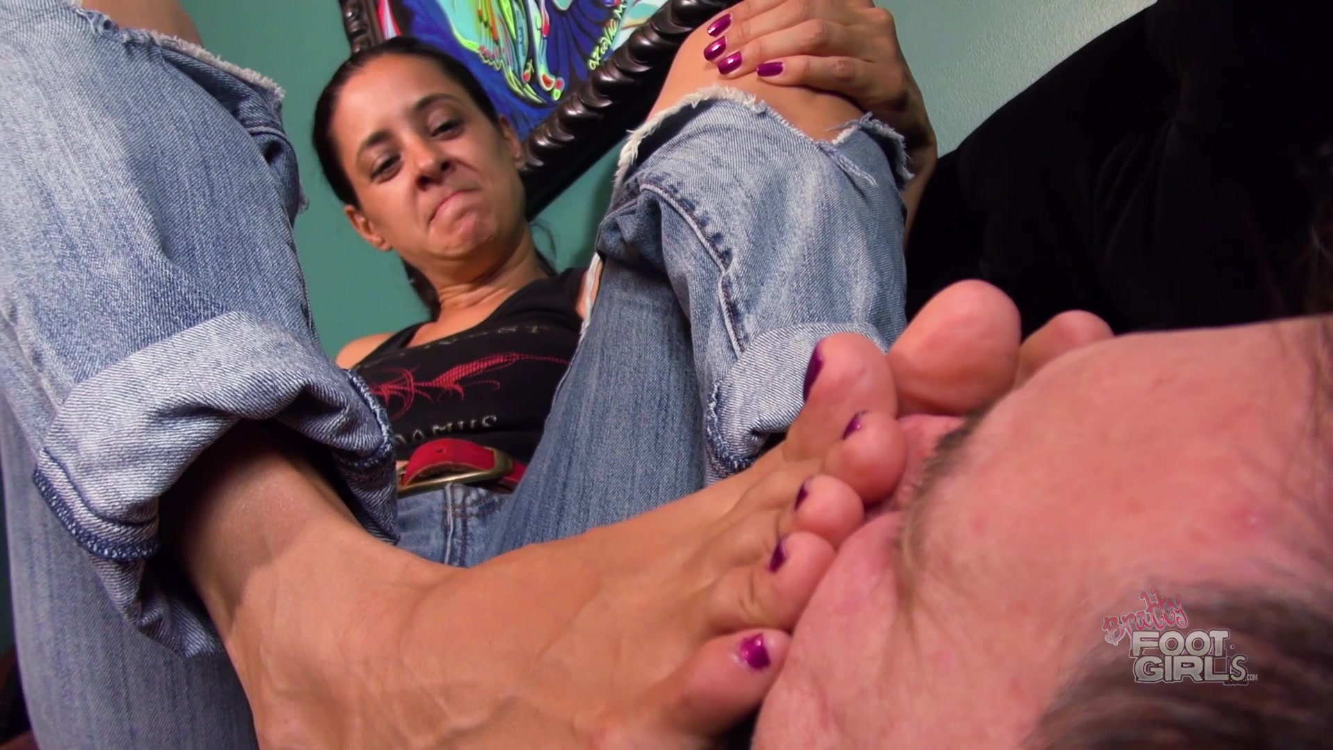 Jamie Daniels Feet Tickle